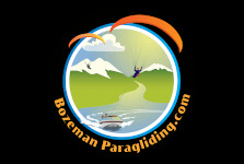 Bozeman Paragliding, Incorporated Logo