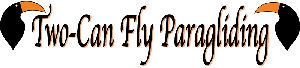 Two-Can Fly Paragliding, Inc. Logo